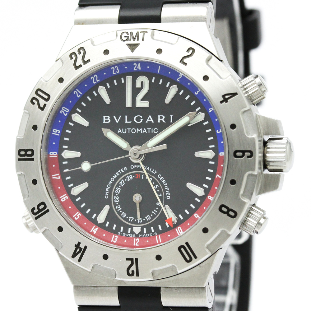 BVLGARI Diagono Professional GMT Automatic Mens Watch GMT40S