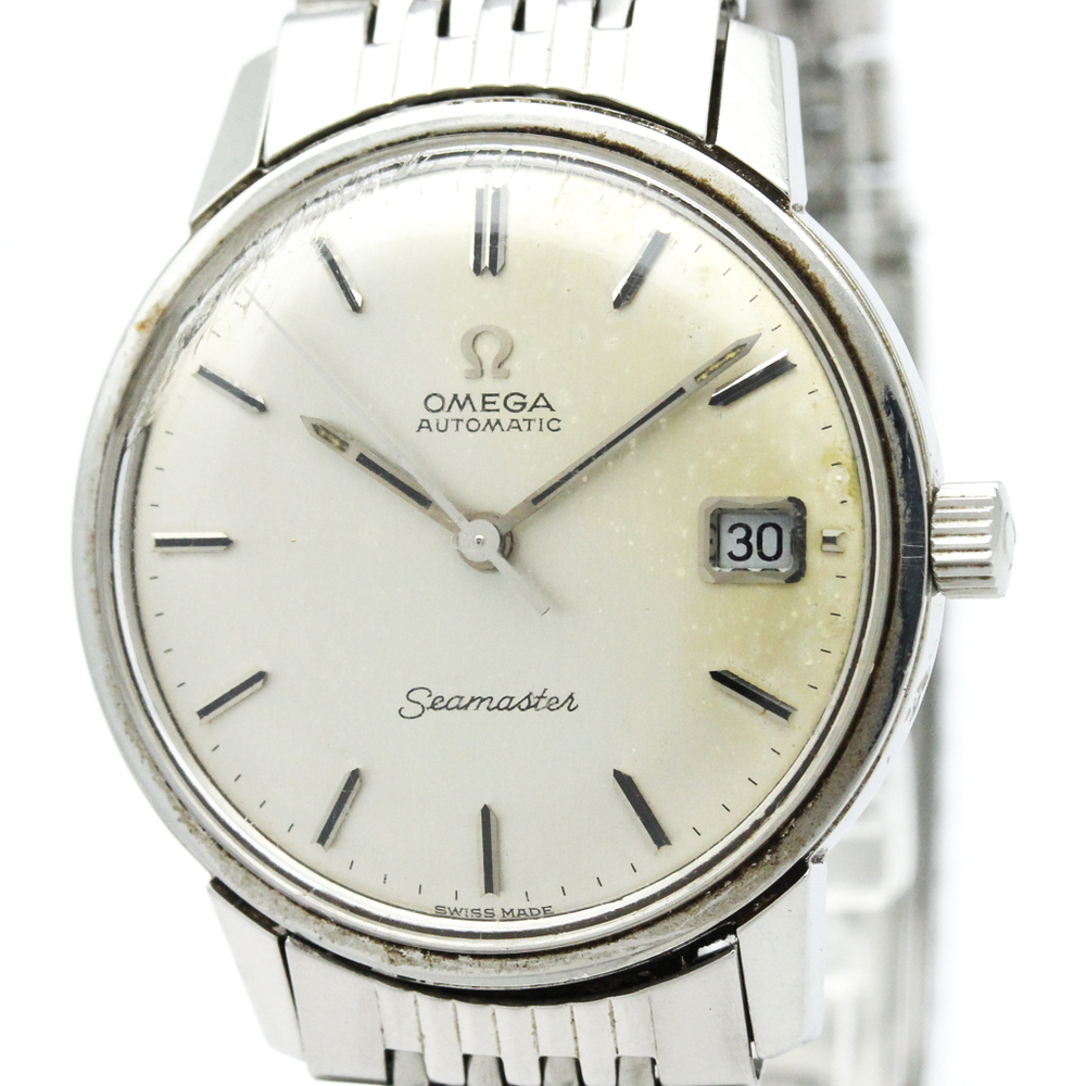 Omega Seamaster Automatic Stainless Steel Men's Dress Watch 166.037