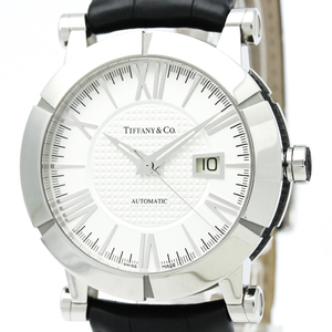 Tiffany Atlas Automatic Rubber,Stainless Steel Men's Dress Watch Z1000.70.12A21A71A
