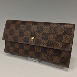 Louis Vuitton Porto Foyu / Tresor International Wallet Damier N 61217