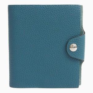 Hermes Ulysse Planner Cover Blue Mini