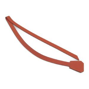 Hermes Bookmark Clochette Orange Leather
