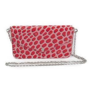 Louis Vuitton Monogram Vernis Pochette Felice M62359 Women's Monogram Vernis Chain/Shoulder Wallet Pink,Red
