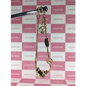Louis Vuitton Speedy Pearl Bracelet Gold M68063