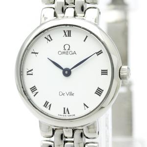 オメガ(Omega) デビル クォーツ ステンレススチール(SS) レディース ドレスウォッチ