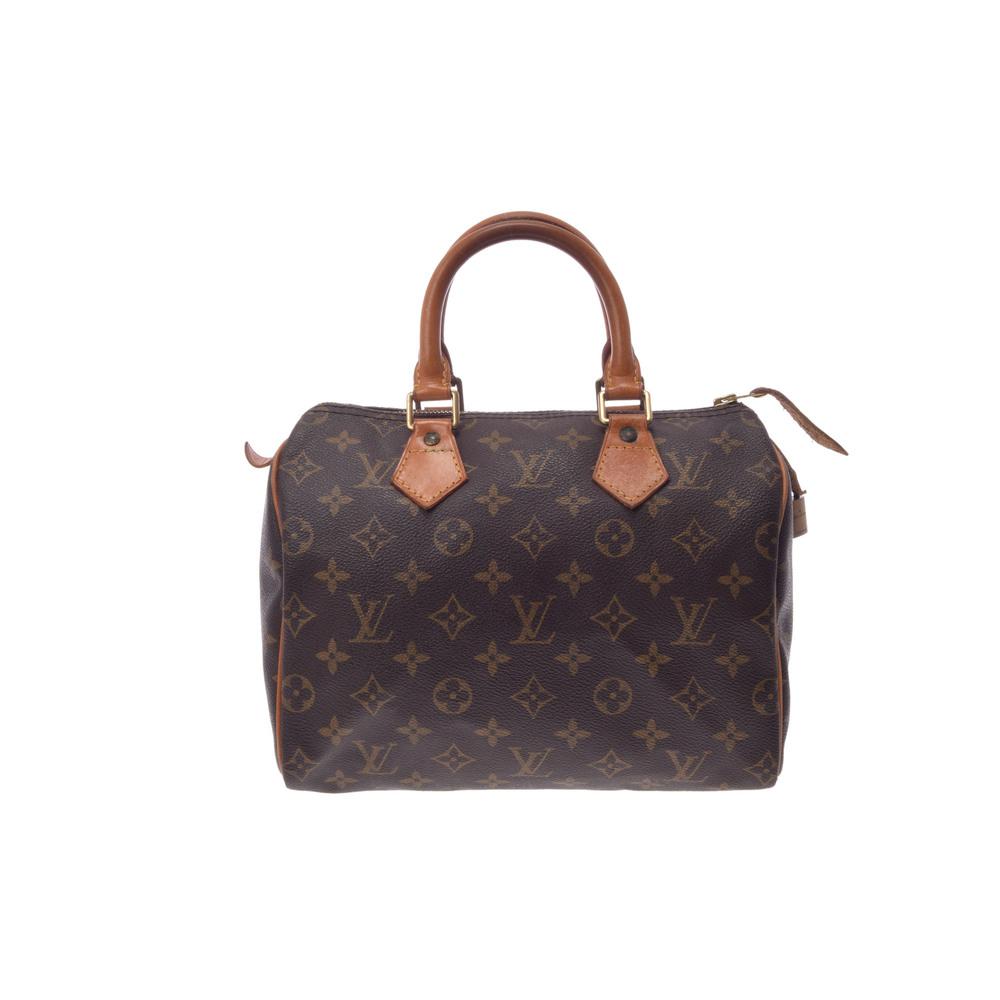 Louis Vuitton Monogram Speedy 25 M41528 Women s Handbag Monogram 9ea133c1d
