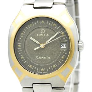 OMEGA Seamaster Polaris 18K Gold Steel Mens Watch 396.1022