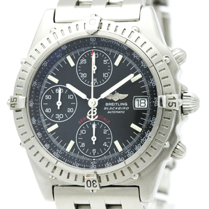 BREITLING Chronomat Black Bird Steel Automatic Watch A13350