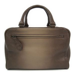 Bottega Veneta Leather Handbag Brown