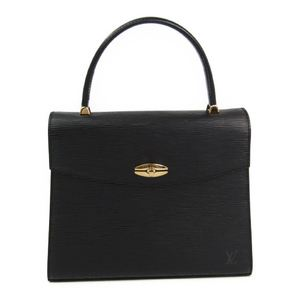 Louis Vuitton Epi Malesherbes M52372 Women's Handbag Noir