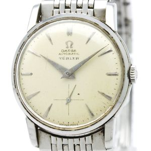 Omega Turler Automatic Stainless Steel Men's Dress Watch 2865