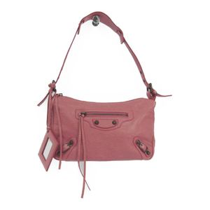 Balenciaga 309935 Women's Leather Shoulder Bag Pink