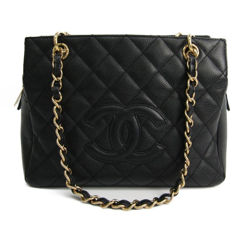 d21c2cdaaa23 Chanel Petite · Timeless Tote PTT A18004 Women's Caviar Leather Handba  BF321554
