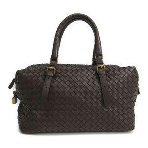 Bottega Veneta Intrecciato 173398 Women's Intrecciato Handbag Dark Brown