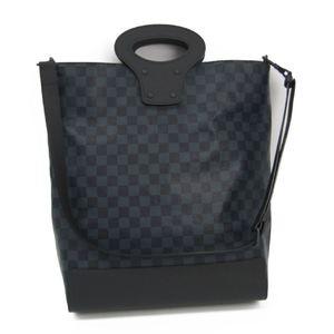 Louis Vuitton Damier Cobalt Tote NS N51100 Men's Tote Bag Damier Cobalt