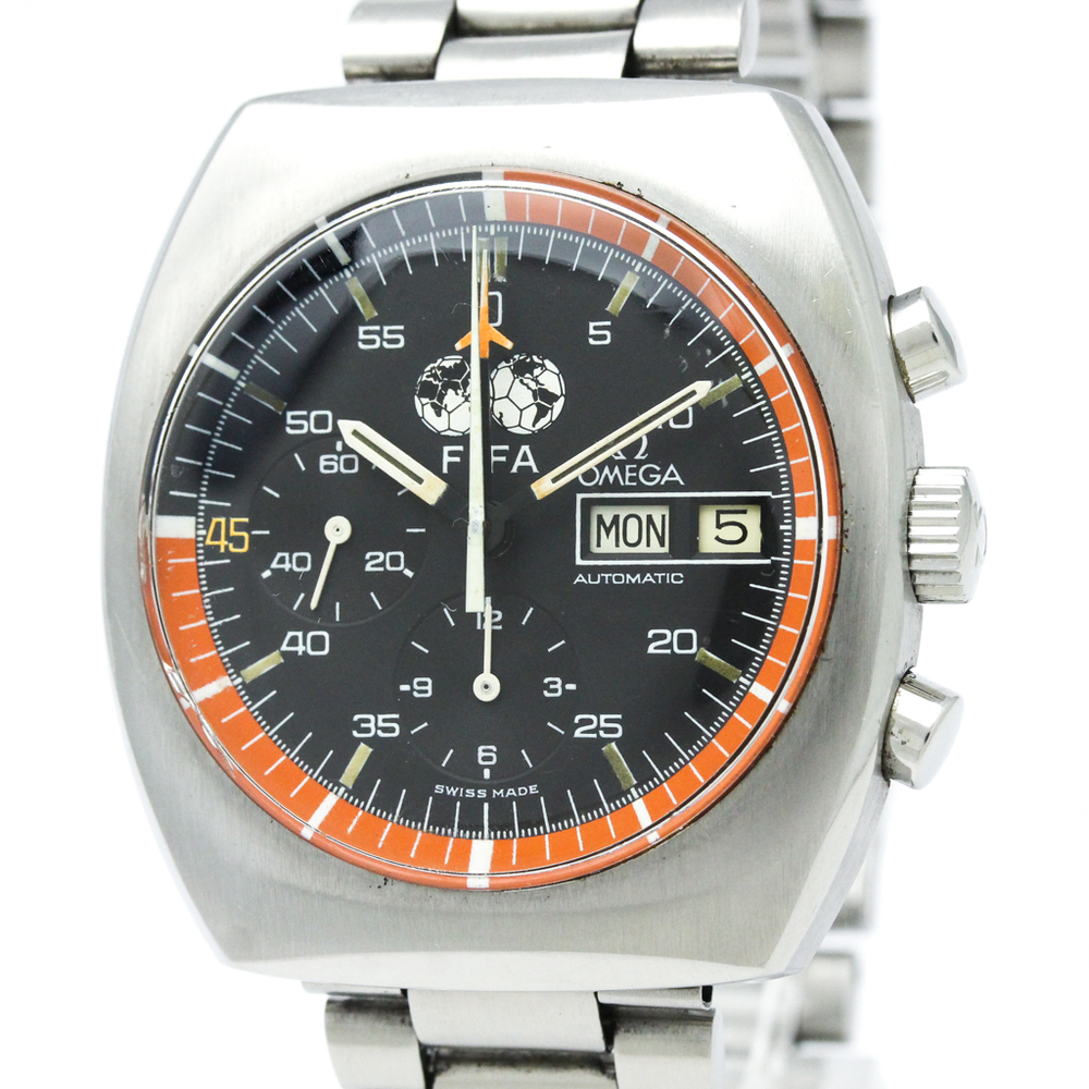 Omega Automatic Stainless Steel Men's Sports Watch 11003