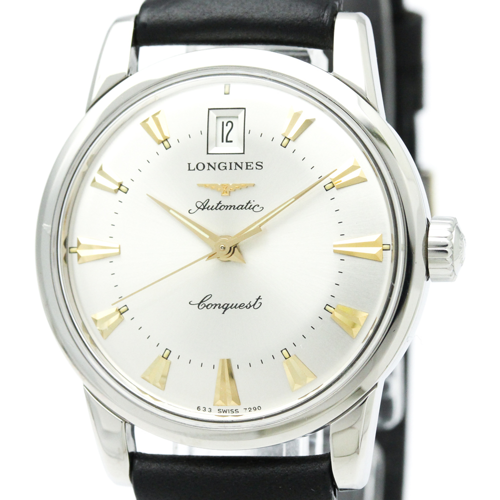 LONGINES Conquest Heritage Steel Automatic Mens Watch L1.611.4