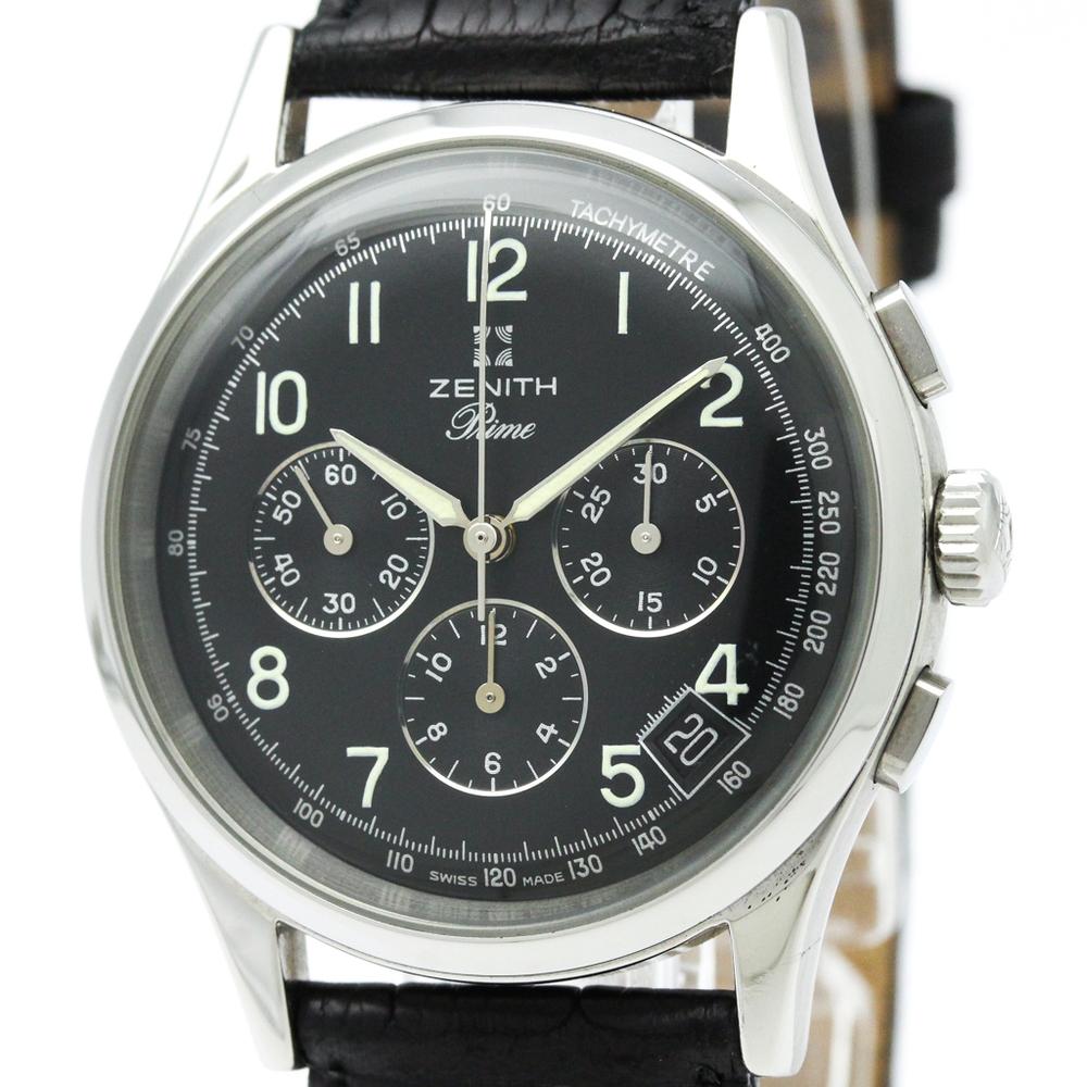 Zenith Mechanical Stainless Steel Men's Sports Watch 01-0010.420