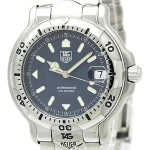 【TAG HEUER】タグホイヤー 6000 プロフェッショナル 200M ステンレススチール クォーツ メンズ 時計 WH1115