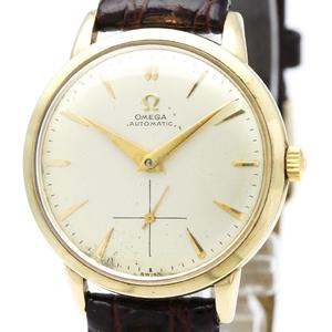 Omega Automatic Yellow Gold (14K) Men's Dress Watch F6516