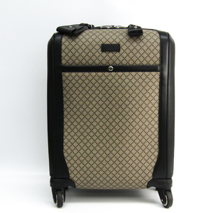グッチ(Gucci) ソフトケース トローリーバッグ ベージュ,ブラック ディアマンテ 293909