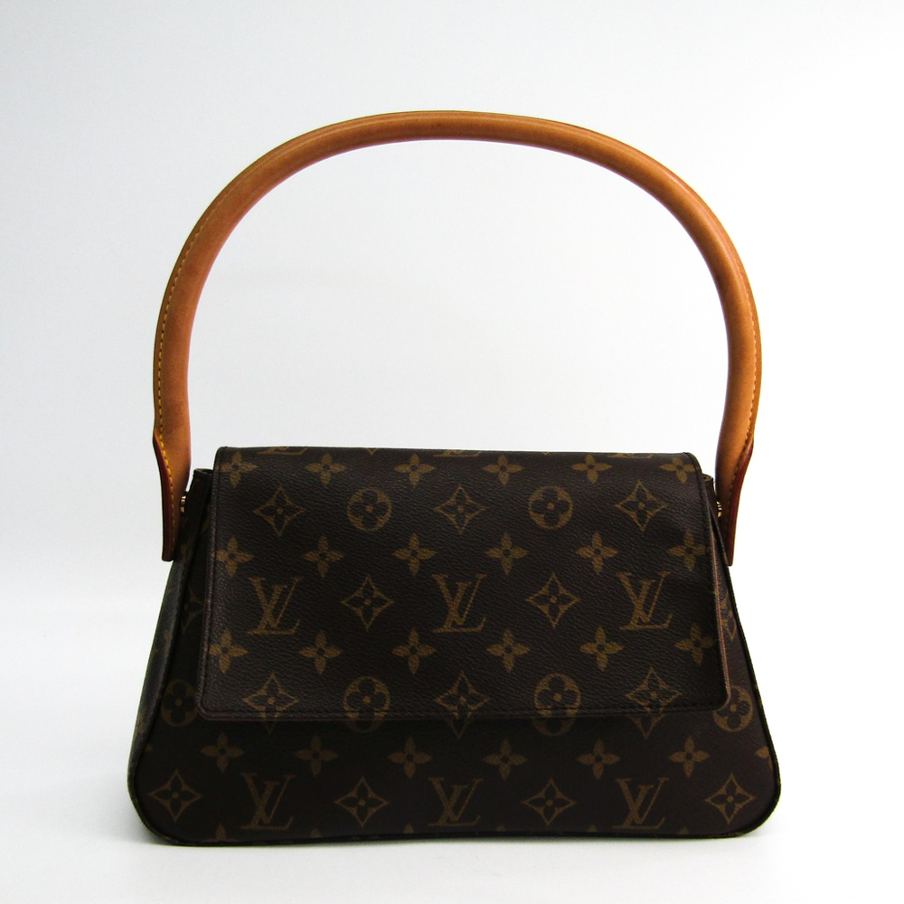 Louis Vuitton Monogram Mini Looping M51147 Women's Shoulder Bag Monogram