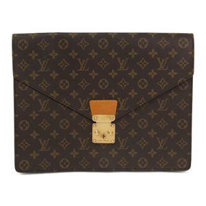 Louis Vuitton Monogram Porte-Documents Senateur M53335 Women's Briefcase Monogram