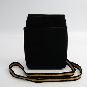 グッチ(Gucci) 141863 レディース GGキャンバス ポシェット ブラック,イエロー