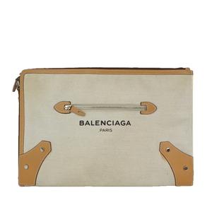 バレンシアガ(Balenciaga) クラッチバッグ キャンバス レザー 419994 za202