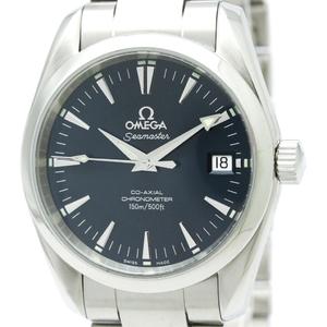 【OMEGA】オメガ シーマスター アクアテラ コーアクシャル ステンレススチール 自動巻き メンズ 時計 2504.80