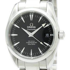 【OMEGA】オメガ シーマスター アクアテラ コーアクシャル ステンレススチール 自動巻き メンズ 時計 2504.50