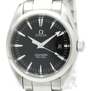 【OMEGA】オメガ シーマスター アクアテラ ステンレススチール クォーツ メンズ 時計 2518.50