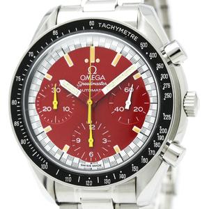 OMEGA Speedmaster Michael Schumacher Red Dial Watch 3510.61