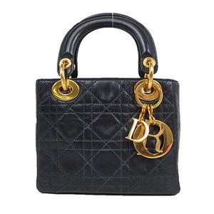 クリスチャン・ディオール(Christian Dior) カナージュ レディ・ディオール 2way ミニバッグ