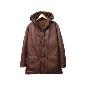 Men's Down Jacket (Brown)