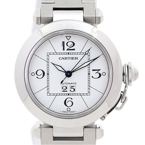 Cartier Pasha De Cartier Pasha C Big Date Automatic Stainless Steel Unisex Dress Watch W31055M7