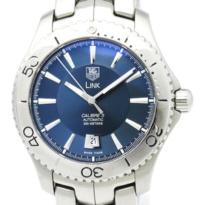Tag Heuer Link Automatic Stainless Steel Men's Sports Watch WJ201C