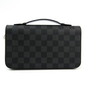 ルイ・ヴィトン(Louis Vuitton) ダミエ・グラフィット ジッピーXL N41503 メンズ ダミエグラフィット 長財布(二つ折り)
