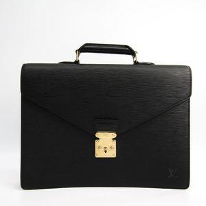 Louis Vuitton Epi Serviette Conseiller M54422 Women's Briefcase Noir