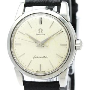Omega Seamaster Mechanical Stainless Steel Men's Dress Watch 2759