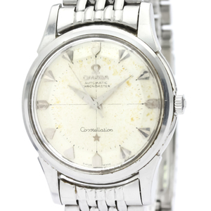 Omega Constellation Automatic Stainless Steel Men's Dress Watch 14381
