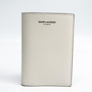 サン・ローラン(Saint Laurent) レザー カードケース ホワイト 396276