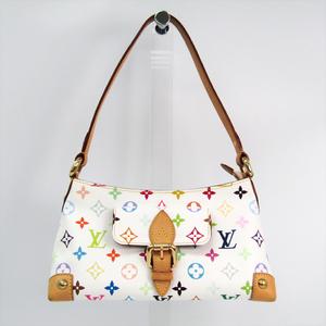 Louis Vuitton Monogram Multicolore Eliza M40098 Women's Shoulder Bag Blanc