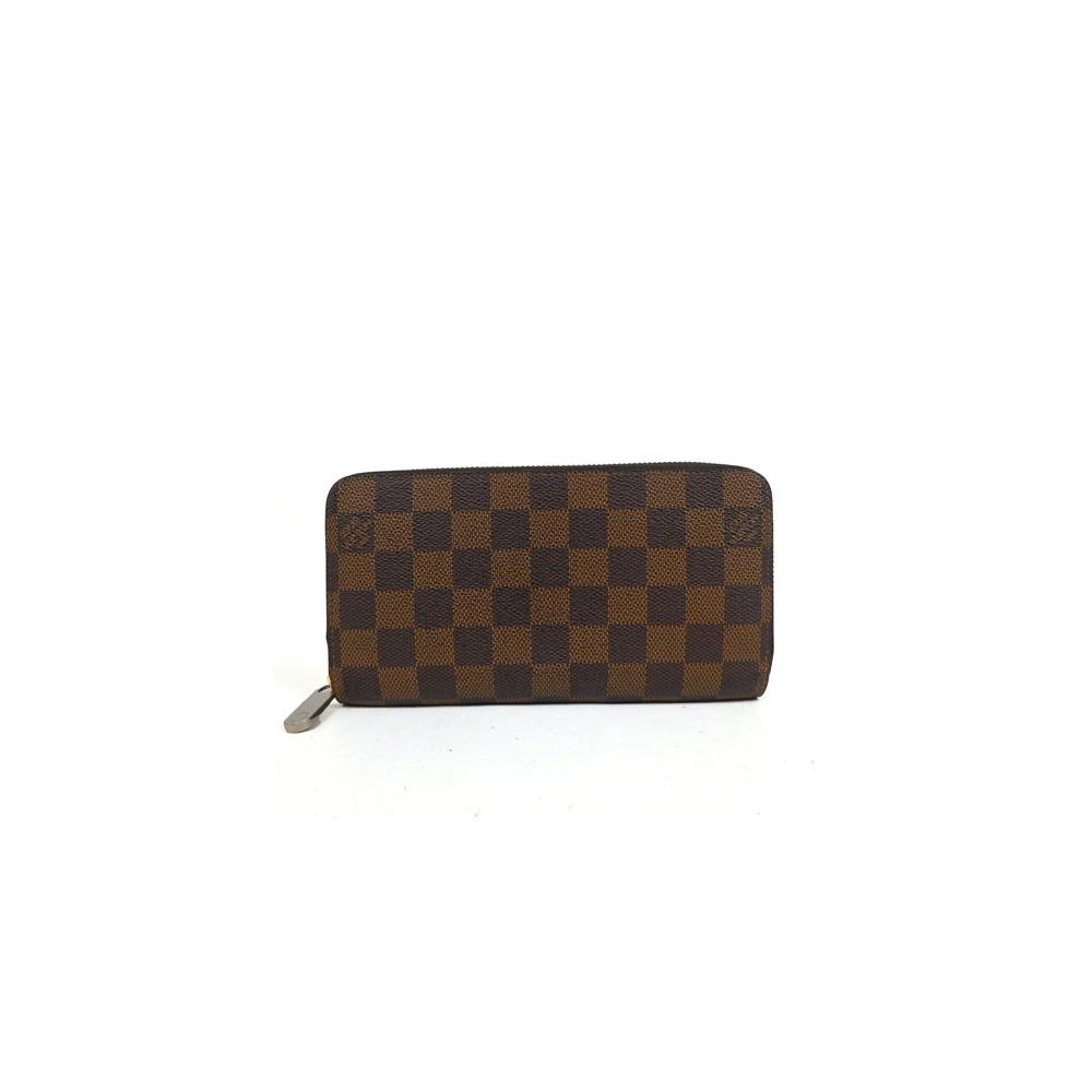 new product 9ec9a 357ec Auth Louis Vuitton Damier Zippy Wallet N60015 | elady.com