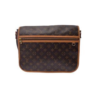 Louis Vuitton Monogram Bosphore M40105 Unisex Messenger Bag Brown