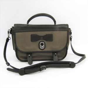 Loewe Cartero 328.73.H33 Women's Leather Handbag Khaki