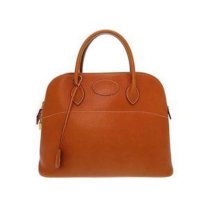 Hermes Unisex Leather Handbag