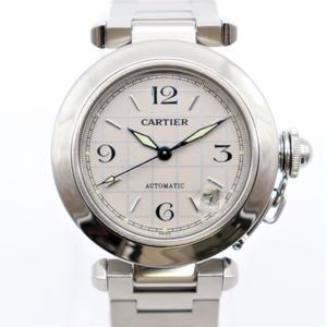 カルティエ(Cartier) パシャ・ドゥ・カルティエ 自動巻き ステンレススチール(SS) ユニセックス ドレスウォッチ パシャC
