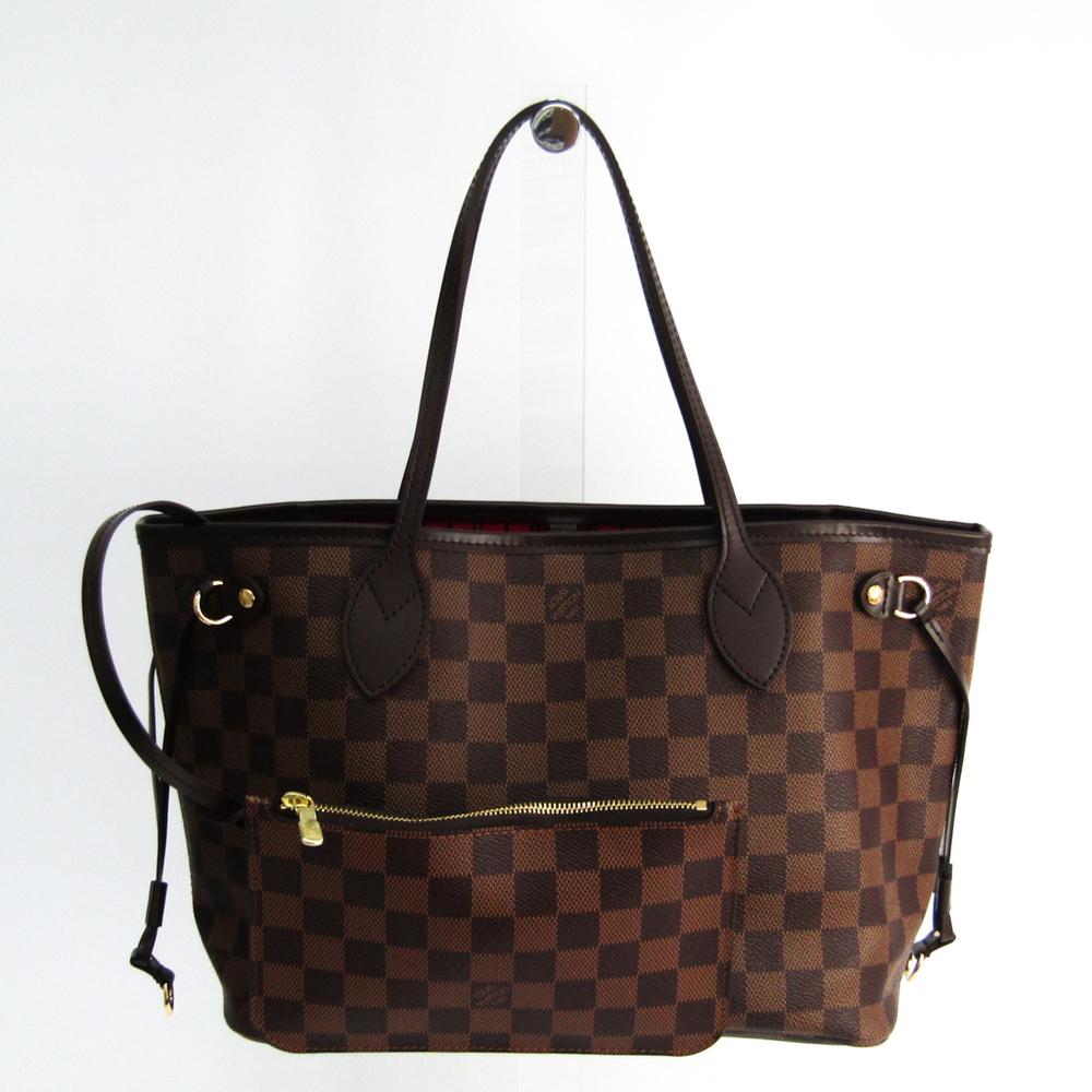 84c91909d Louis Vuitton Damier Neverfull PM N41359 Tote Bag Ebene | elady.com