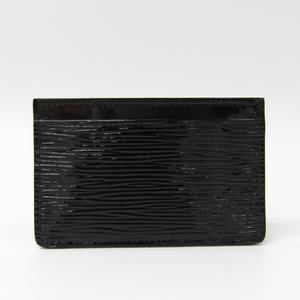 ルイ・ヴィトン(Louis Vuitton) エピレザー カードケース ノワール ポルト カルト サーンプル エピエレクトリック M6030N